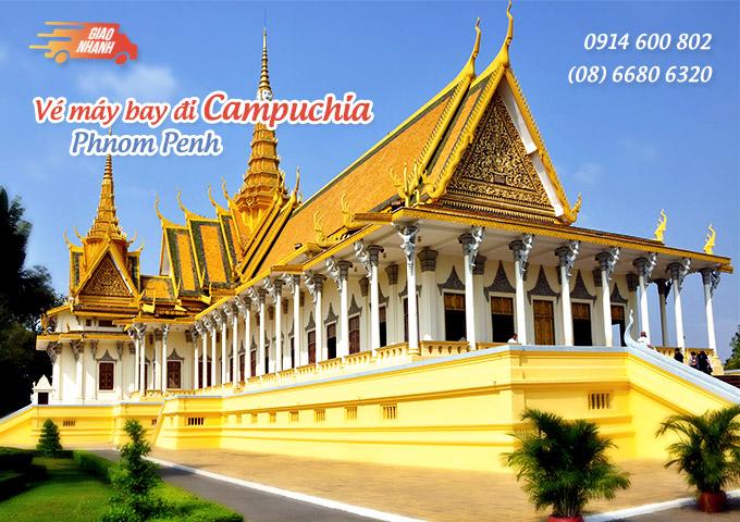 Vé máy bay đi Phnom Penh (Campuchia)