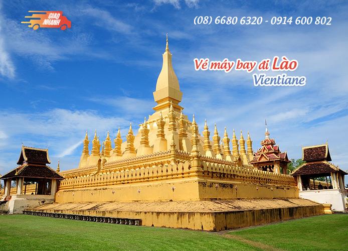 Vé máy bay đi Vientane (Lào)