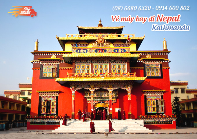 Vé máy bay đi Kathmandu (Nepal)