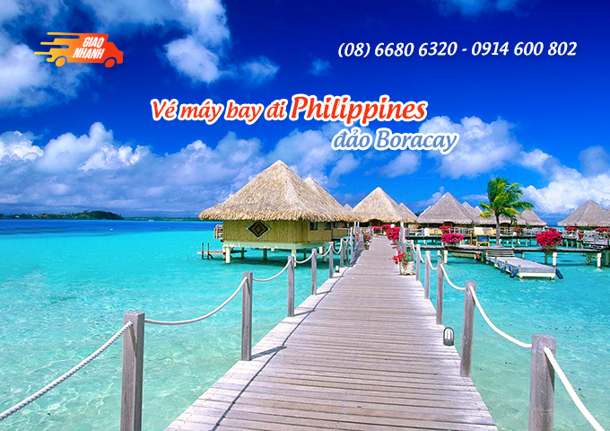 Vé máy bay đi đảo Boracay (Philippines)