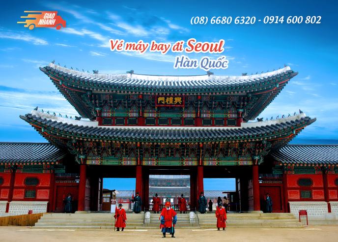 Vé máy bay đi Seoul (Hàn Quốc)