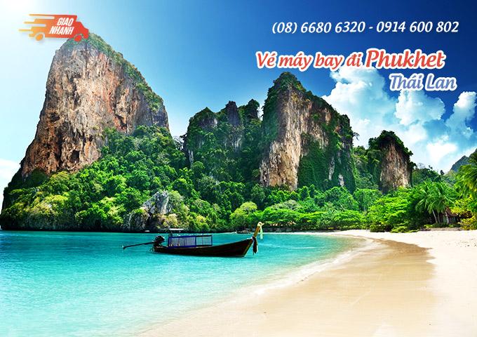 Vé máy bay đi Phukhet (Thái Lan)