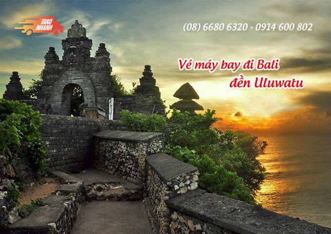 Vé máy bay đi Indonesia khám phá đền Uluwatu, đảo Bali