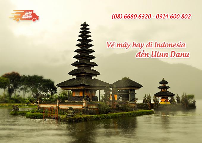 Vé máy bay đi Indonesia khám phá đền Ulun Danu, đảo Bali