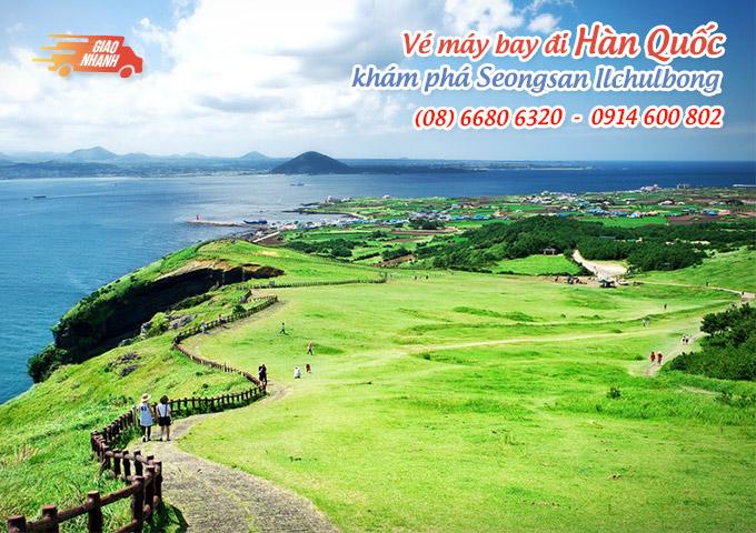Vé máy bay đi Hàn Quốc khám phá đảo Udo trên đảo Jeju