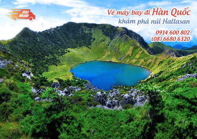 Vé máy bay đi Hàn Quốc khám phá núi Hallasan, đảo Jeju