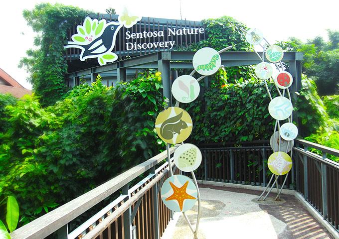 Vé máy bay đi Singapore khám phá Sentosa Nature Discovery, Sentosa