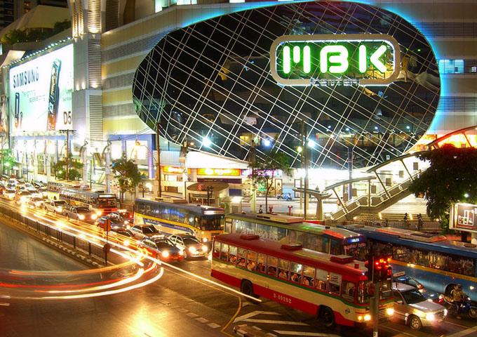 Vé máy bay đi Thái Lan mua sắm ờ MBK, Bangkok