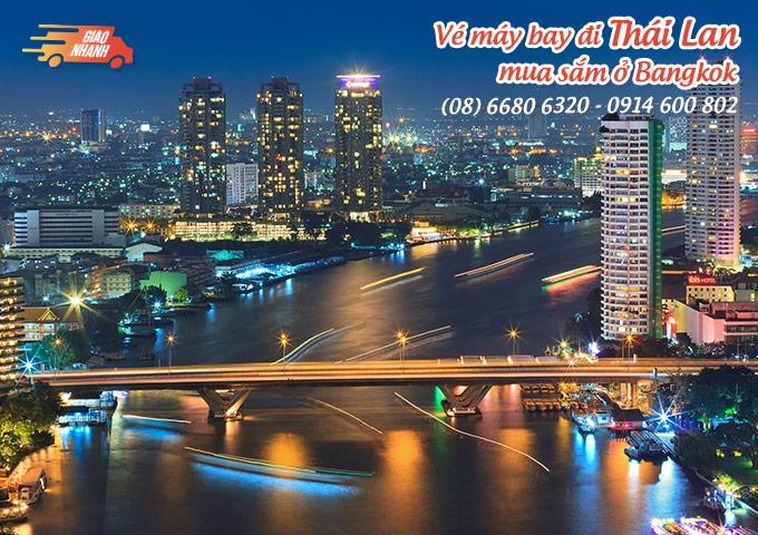 Vé máy bay đi Thái Lan mua sắm thỏa thích ở Bangkok