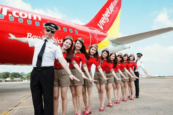 Bảng giá vé máy bay Vietjet