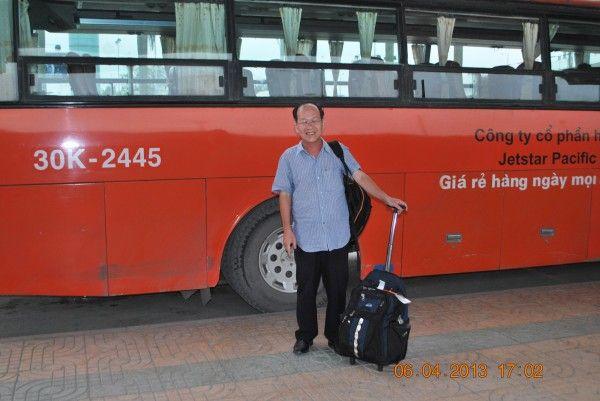 Xe bus Jetstar đi Nội Bài