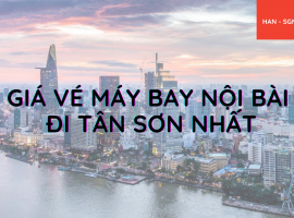 Giá vé máy bay Nội Bài đi Tân Sơn Nhất